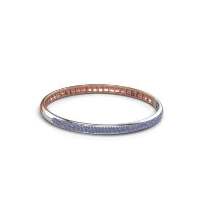 Armband Emely 5mm 585 rosé goud saffier 1.1 mm