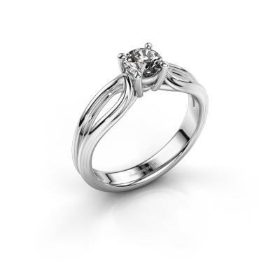 Verlovingsring Antonia 1 950 platina diamant 0.50 crt