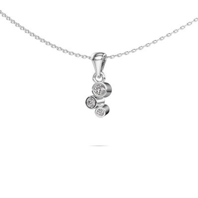 Picture of Pendant Tessa 585 white gold diamond 0.105 crt