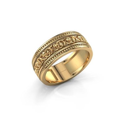 Foto van Mannen ring Eddo 585 goud