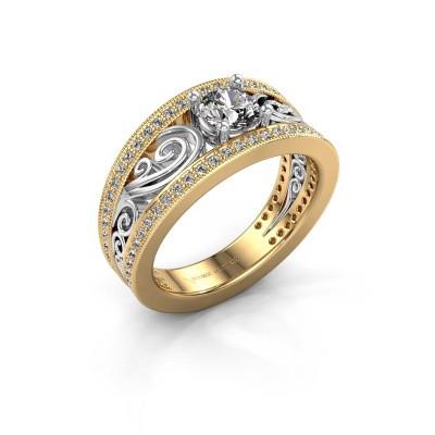Foto van Ring Julliana 585 goud lab-grown diamant 0.91 crt