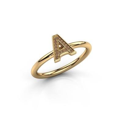 Foto van Ring Initial ring 070 585 goud