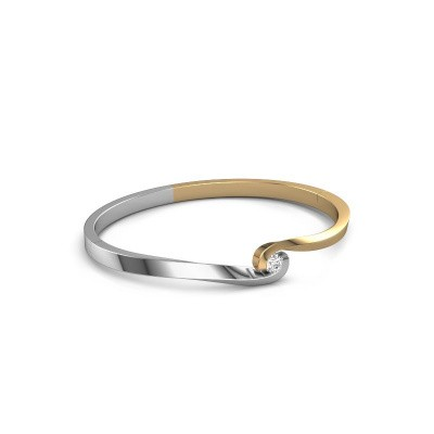 Slavenarmband Sheryl 585 goud diamant 0.30 crt