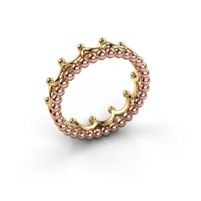 Ring Romana 585 rosé goud