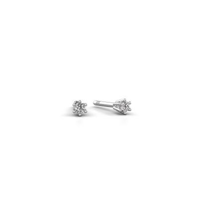 Bild von Ohrringe Fay 585 Weißgold Diamant 0.15 crt