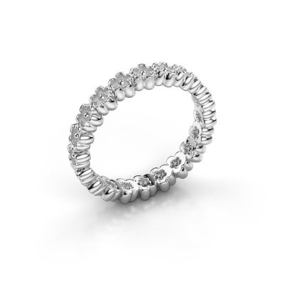 Picture of Stackable ring Charolette 585 white gold