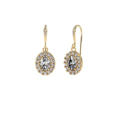 Oorhangers Jorinda 2 585 goud diamant 2.19 crt