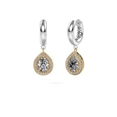 Foto van Oorhangers Barbar 1 585 goud diamant 2.065 crt
