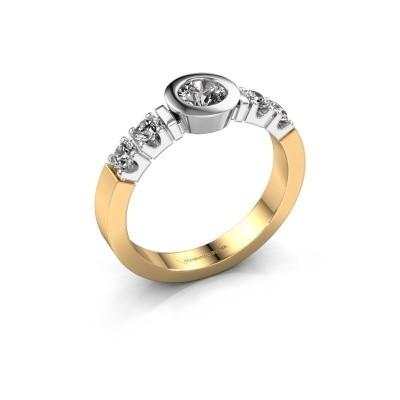 Foto van Verlovingsring Casey 585 goud diamant 0.62 crt