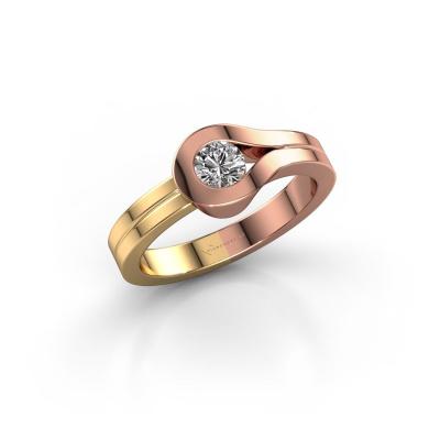 Ring Kiki 585 Roségold Diamant 0.30 crt