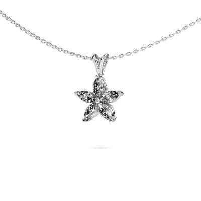 Foto van Ketting Sylvana 950 platina diamant 0.14 crt
