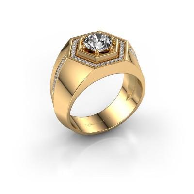 Men's ring Sjoerd 585 gold diamond 1.360 crt