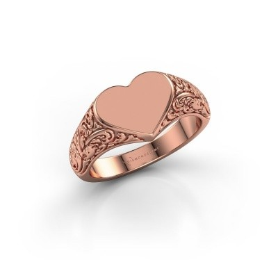 Picture of Signet ring Jaye 585 rose gold