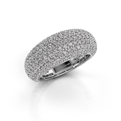 Picture of Ring Lyndia 585 white gold diamond 2.769 crt