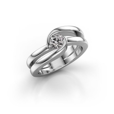 Picture of Ring Xenia 1 585 white gold diamond 0.50 crt