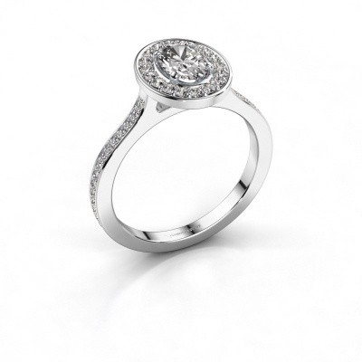 Foto van Ring Madelon 2 585 witgoud diamant 1.16 crt