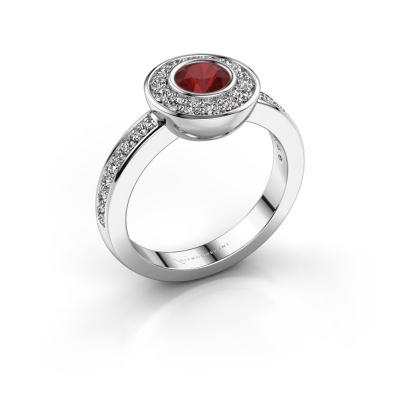 Ring Ivy 925 Silber Rubin 5 mm