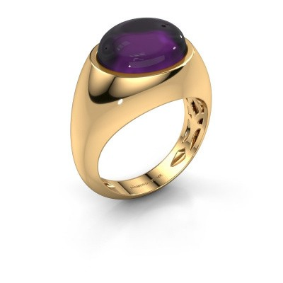 Ring Laurien 585 gold amethyst 12x10 mm