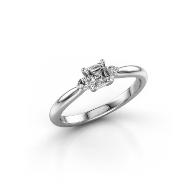 Picture of Engagement ring Lieselot ASS 585 white gold diamond 0.59 crt