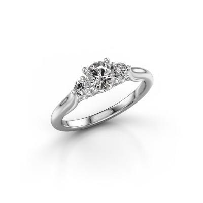 Foto van Verlovingsring Laurian RND 950 platina diamant 0.70 crt
