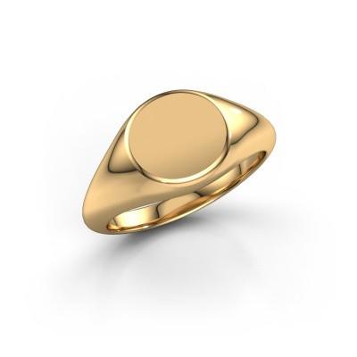 Foto van Zegelring Cyanne 1 375 goud