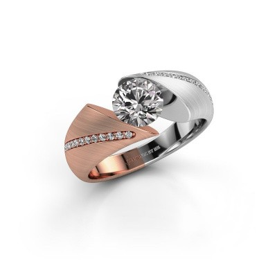 Verlobungsring Hojalien 2 585 Roségold Diamant 1.12 crt