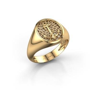 Foto van Heren ring Roger 585 goud