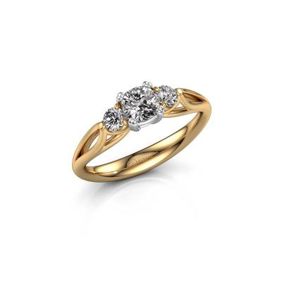 Verlobungsring Amie cus 585 Gold Diamant 0.70 crt