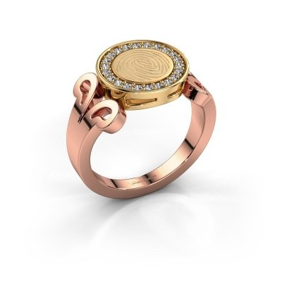 Ring Doret 585 rose gold