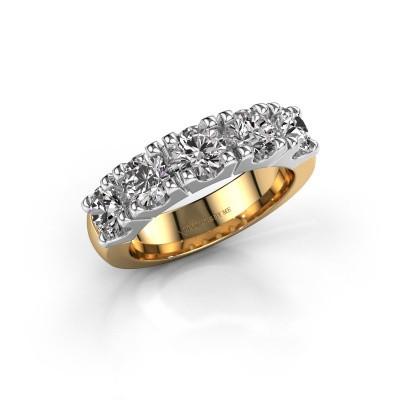 Foto van Aanzoeksring Rianne 5 585 goud diamant 2.00 crt