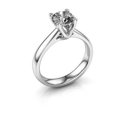 Bague de fiançailles Janna 1 585 or blanc diamant 1.00 crt