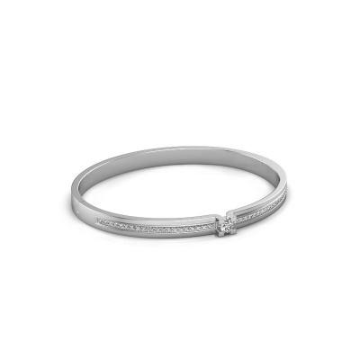 Armband Myrthe 585 witgoud diamant 0.742 crt