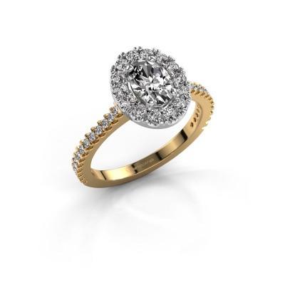 Engagement ring Jorinda 2 585 gold diamond 1.275 crt