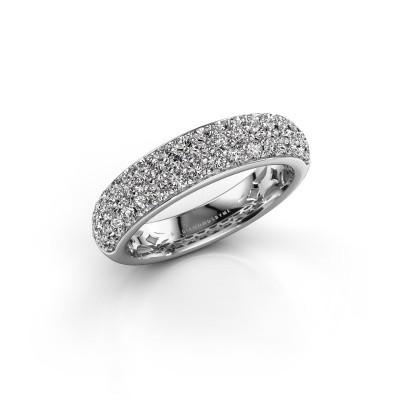 Foto van Ring Emely 6 950 platina diamant 0.952 crt