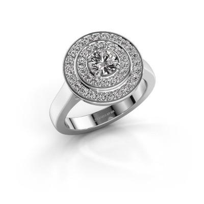 Foto van Ring Alecia 1 950 platina diamant 0.60 crt
