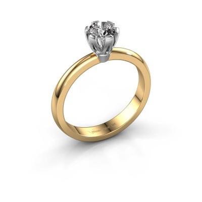 Verlovingsring Julia 585 goud diamant 0.50 crt