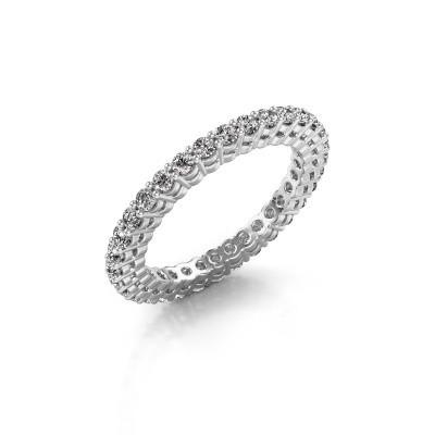 Aanschuifring Rufina 3 585 witgoud lab-grown diamant 0.896 crt