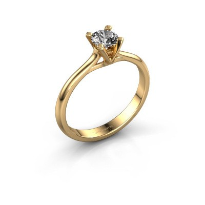 Picture of Engagement ring Isa 1 375 gold diamond 0.40 crt
