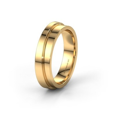 Trouwring WH6016M15E 585 goud ±5x2.4 mm