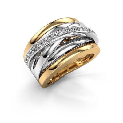 Foto van Ring Clair 1 585 goud diamant 0.315 crt