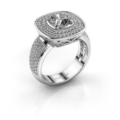 Foto van Ring Eliana 925 zilver diamant 1.54 crt