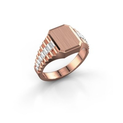 Foto van Rolex stijl ring Erik 1 585 rosé goud