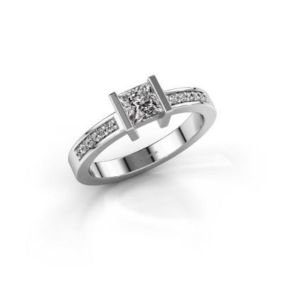 Engagement ring Jordan 950 platinum diamond 0.50 crt