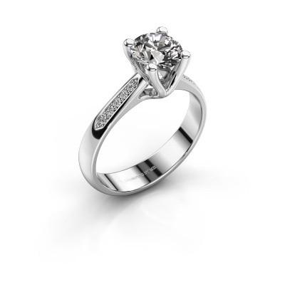 Promise ring Janna 2 950 platinum diamond 1.00 crt
