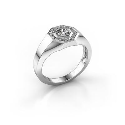 Picture of Men's ring Jaap 950 platinum diamond 0.37 crt