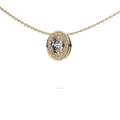Ketting Madelon 375 goud lab-grown diamant 0.680 crt