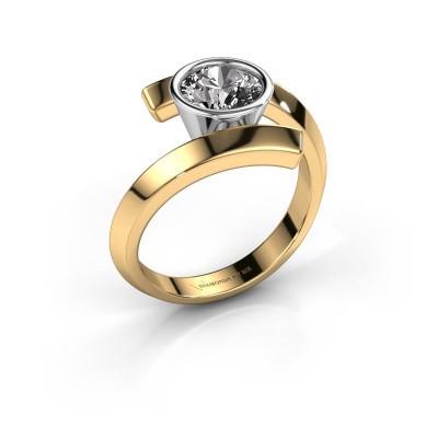 Foto van Ring Mara 585 goud diamant 1.00 crt