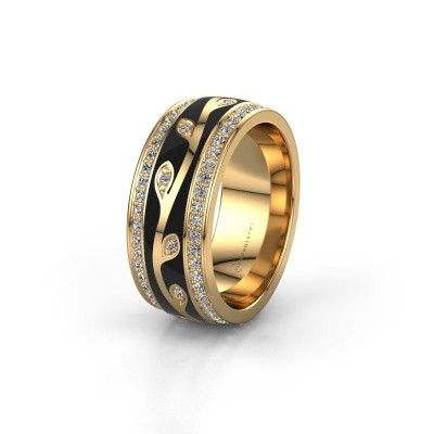 Picture of Wedding ring WH3051L28B 585 gold ±0.31x0.08 in