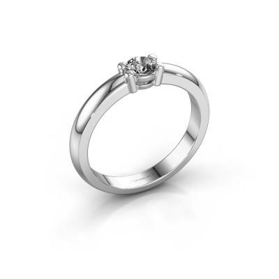 Foto van Verlovingsring Michelle 1 585 witgoud diamant 0.25 crt