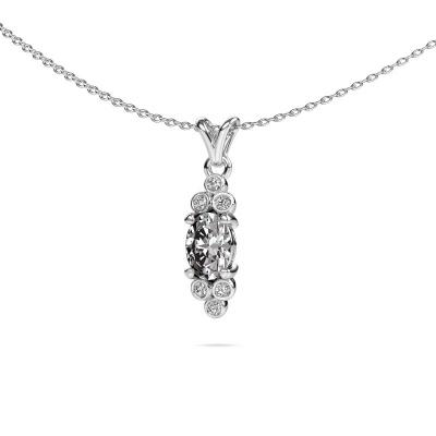 Foto van Hanger Lucy 2 925 zilver diamant 0.89 crt
